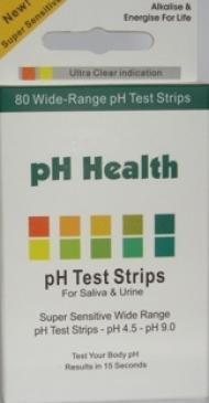 Genuine Health pH PAPER - 1 ROLL - National Nutrition
